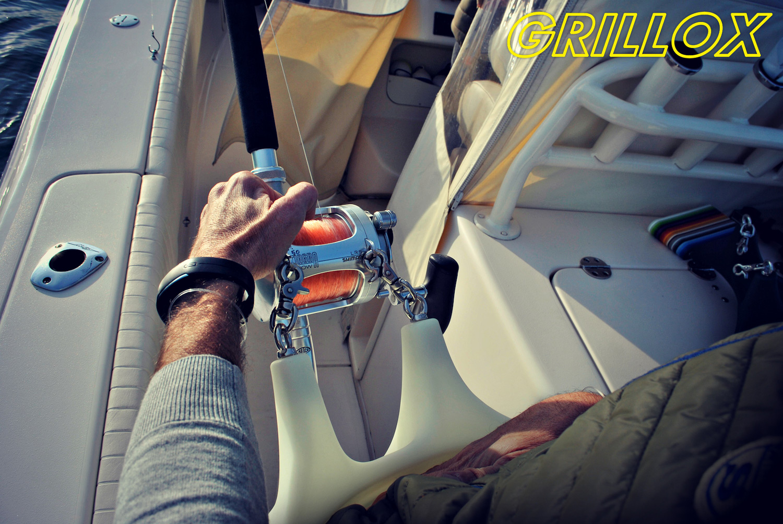 Grillox - cintura da combattimento per la pesca standup